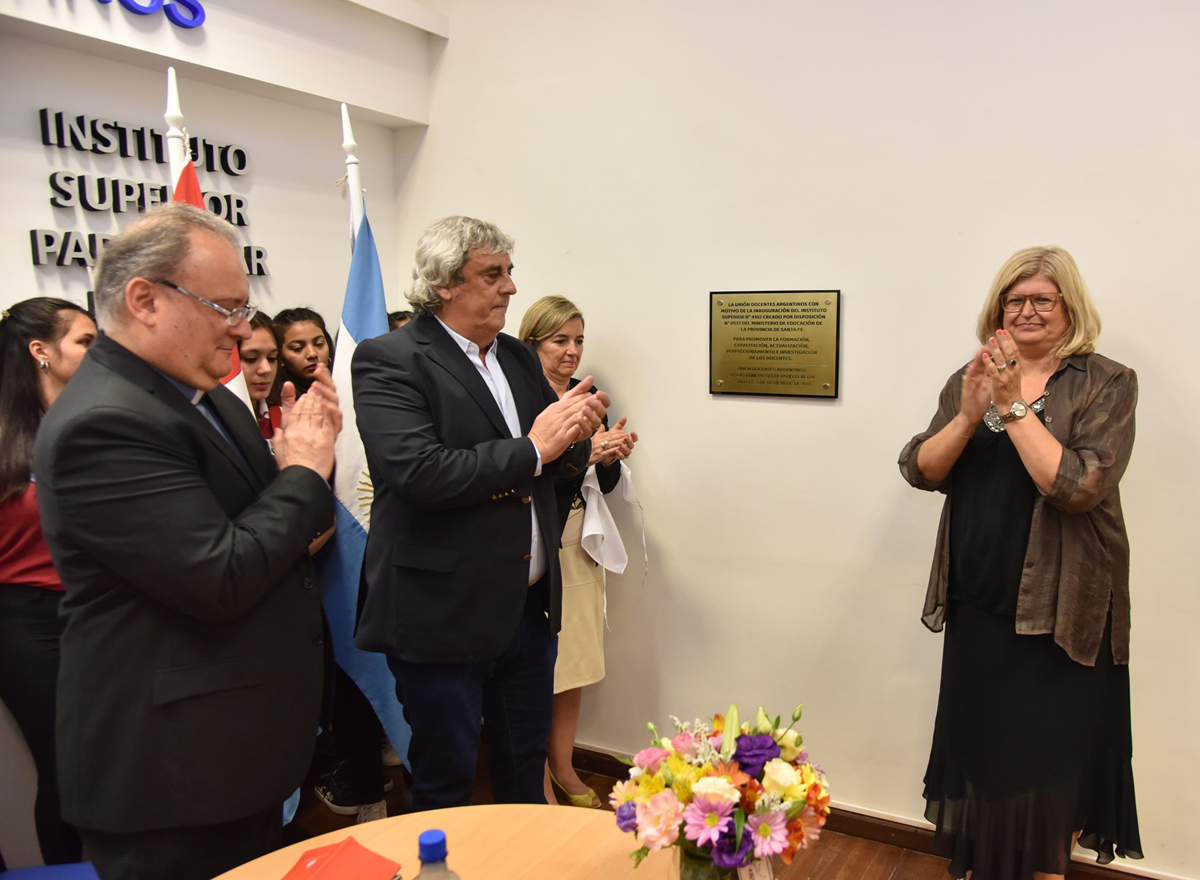Inauguraron Instituto Superior de UDA